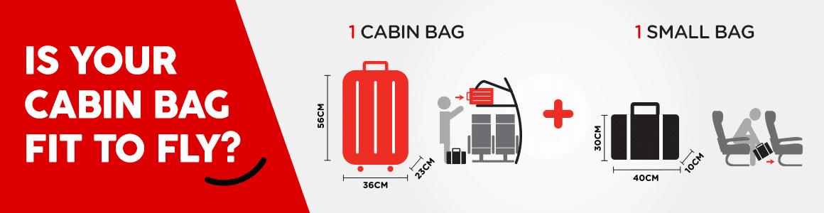 AirAsia Gepäckbestimmungen