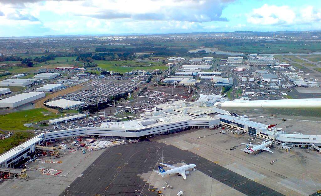 Auckland Airport Neuseeland