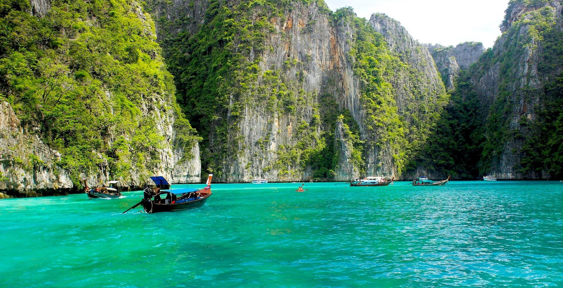 Bucht in Thailand - Koh Phi Phi