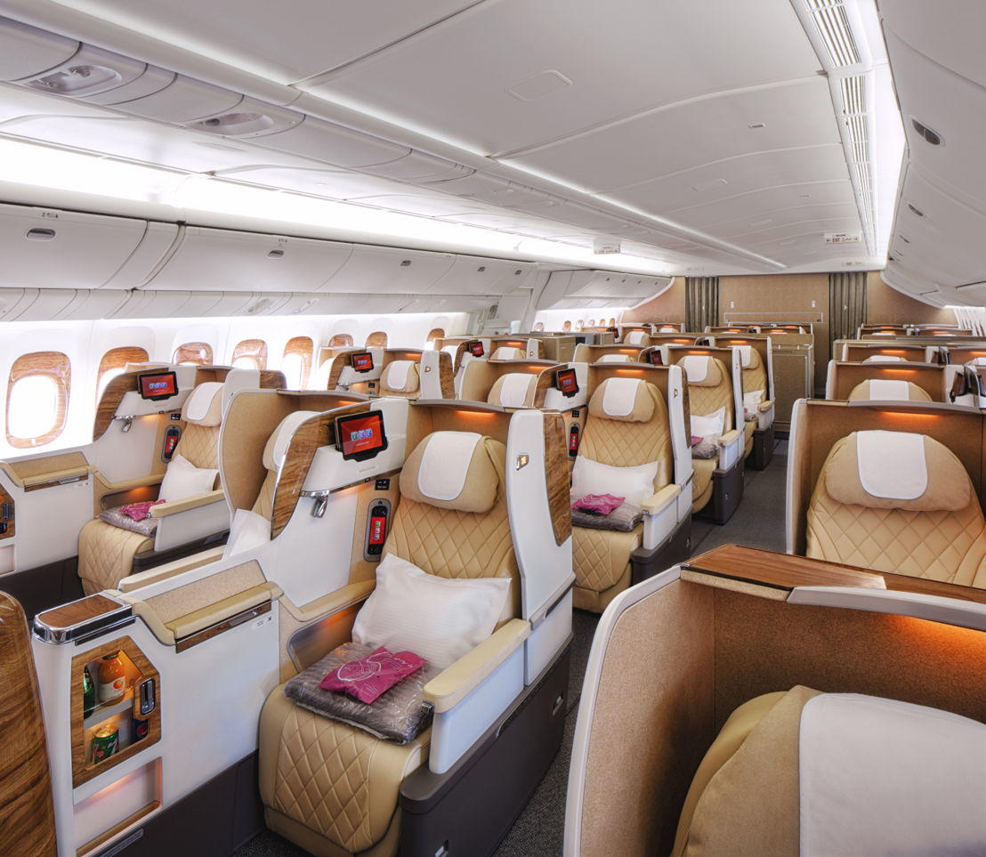 Emirates Business Class nach Thailand