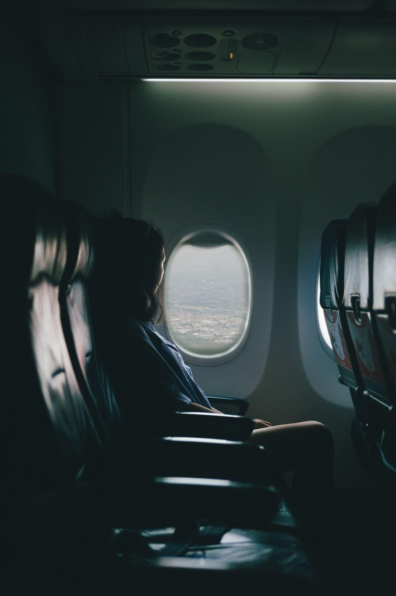 Flugzeug Sitzplatz Tricks - Leere Reihe ergattern