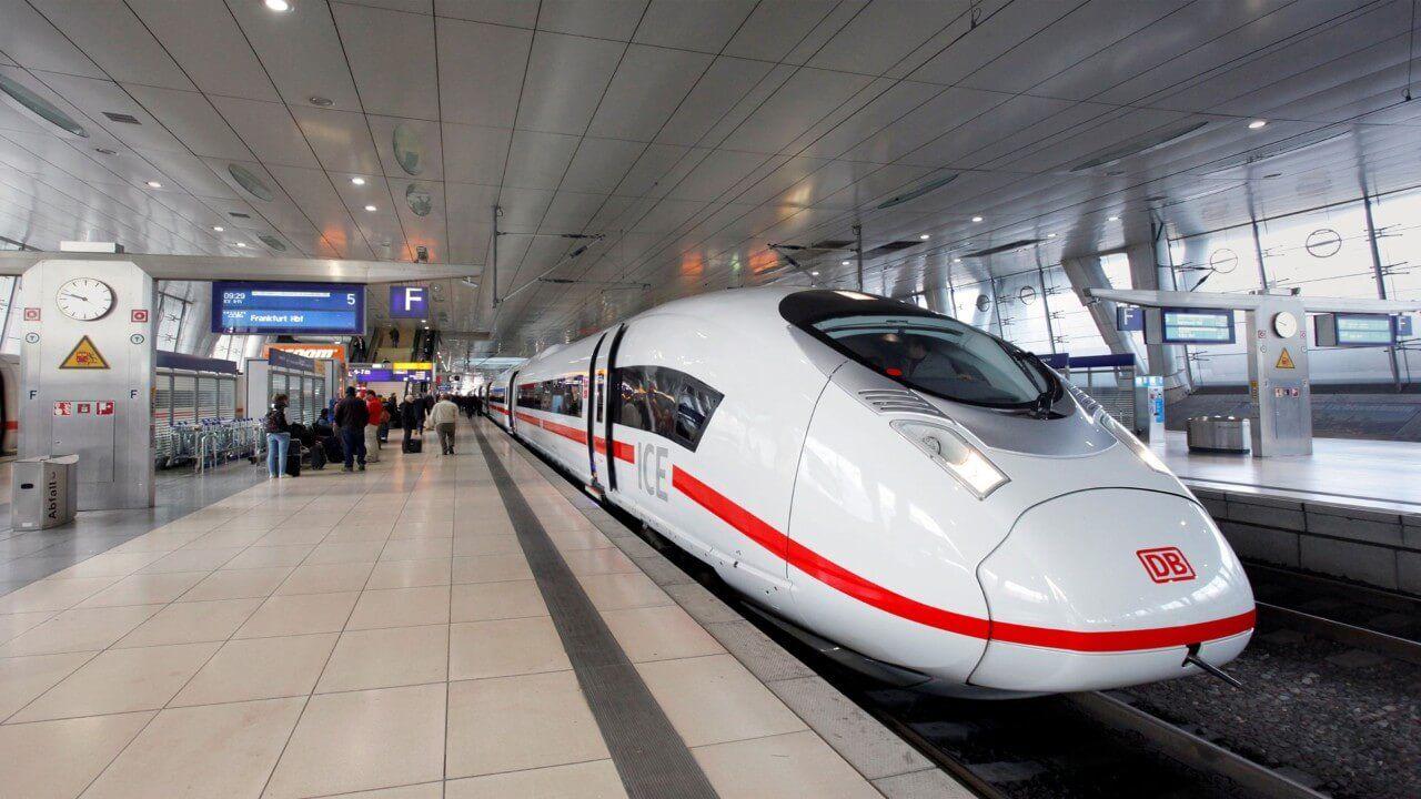 ICE Frankfurt Airport Fernbahnhof