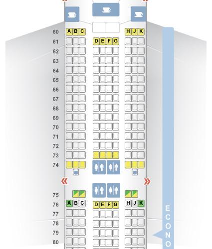 Lufthansa_Airbus_A380 Sitzplätze