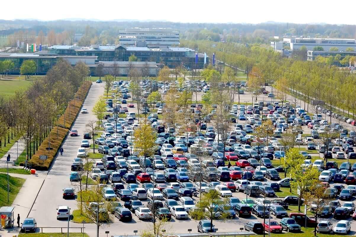 P41 Budget-Parken Flughafen München