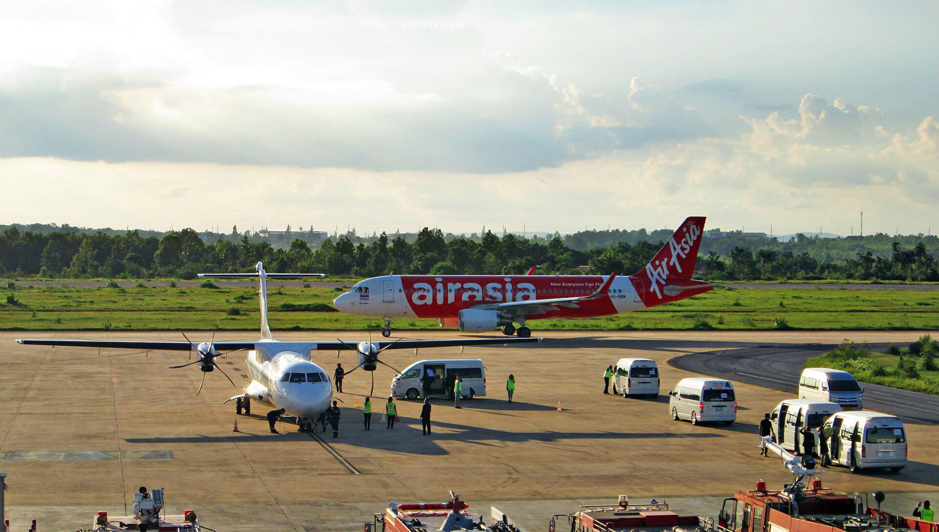 Air Asia Khon Khaen Airport Thailand