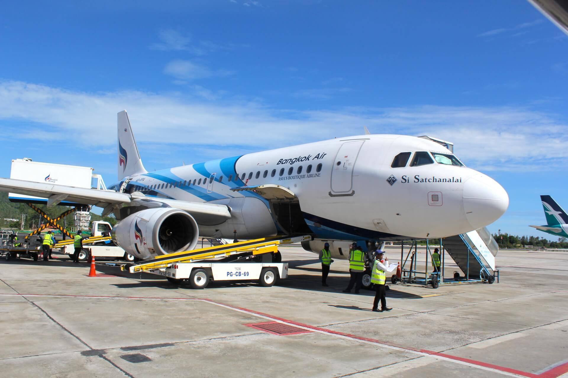 Bangkok Airways A319 Inlandsflüge Thailand Airlines