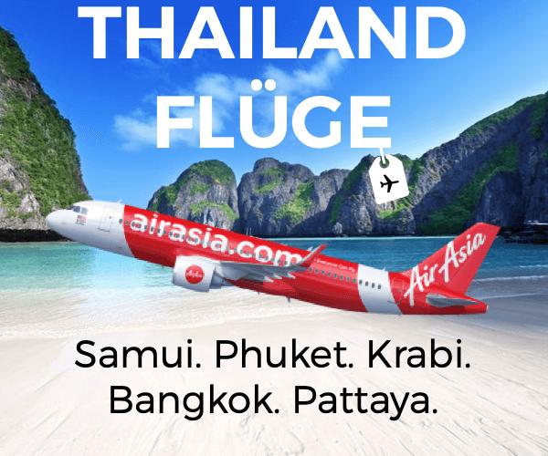 Inlandsflüge Thailand Banner