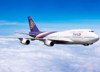Thai Airways Promotion Oktober 2018 ab Thailand