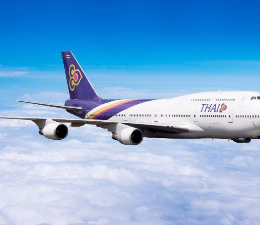 Thai Airways Promotion Oktober 2018 ab Thailand