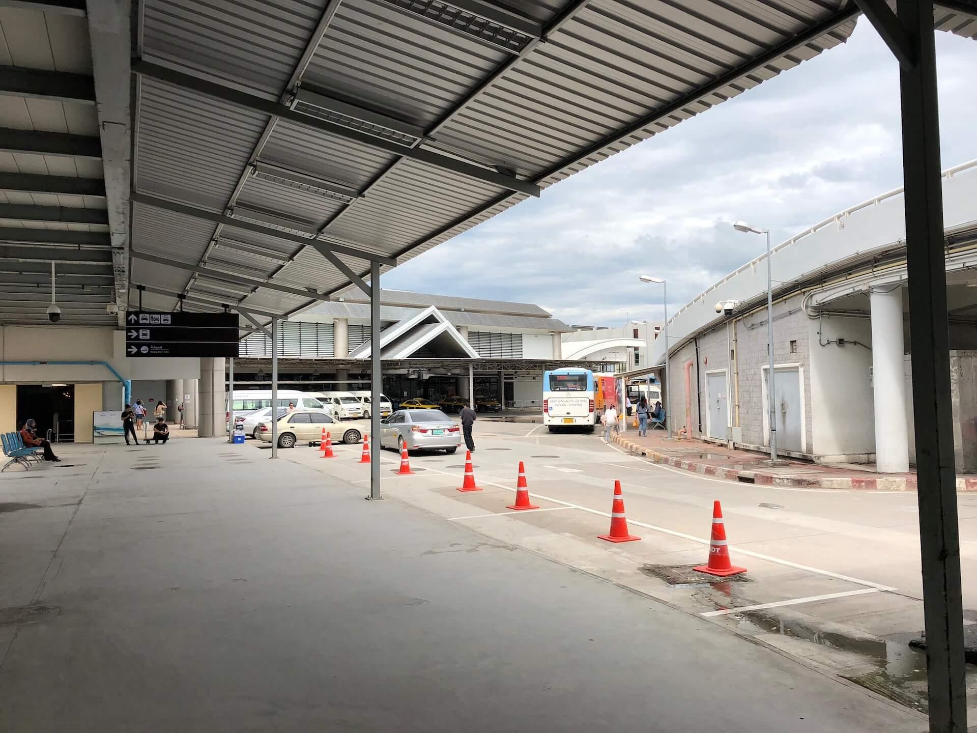 Abfahrtsort Bus, Taxi Domestic Terminal Phuket