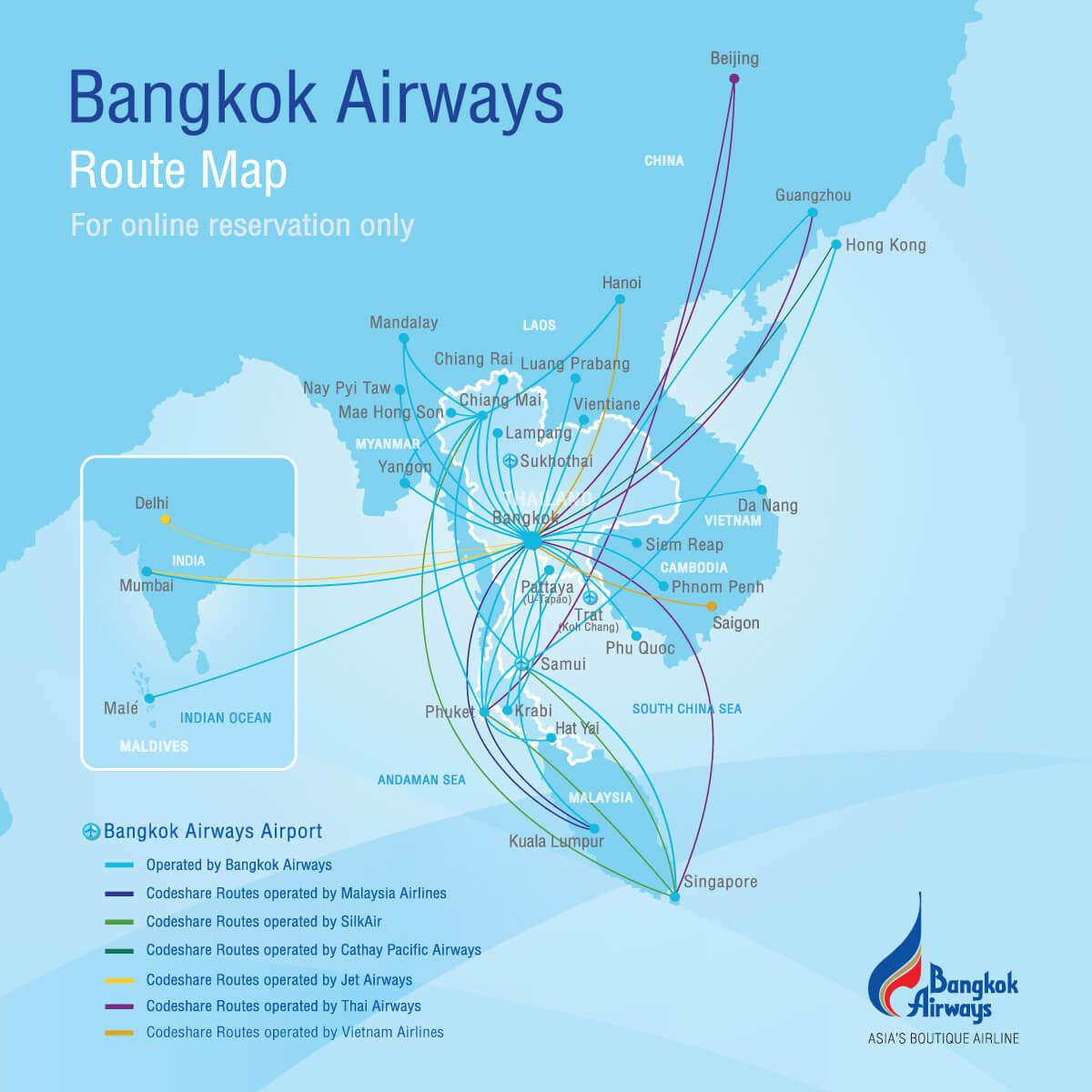 Bangkok Airways - Alles über die Airline aus Thailand » airguru.de
