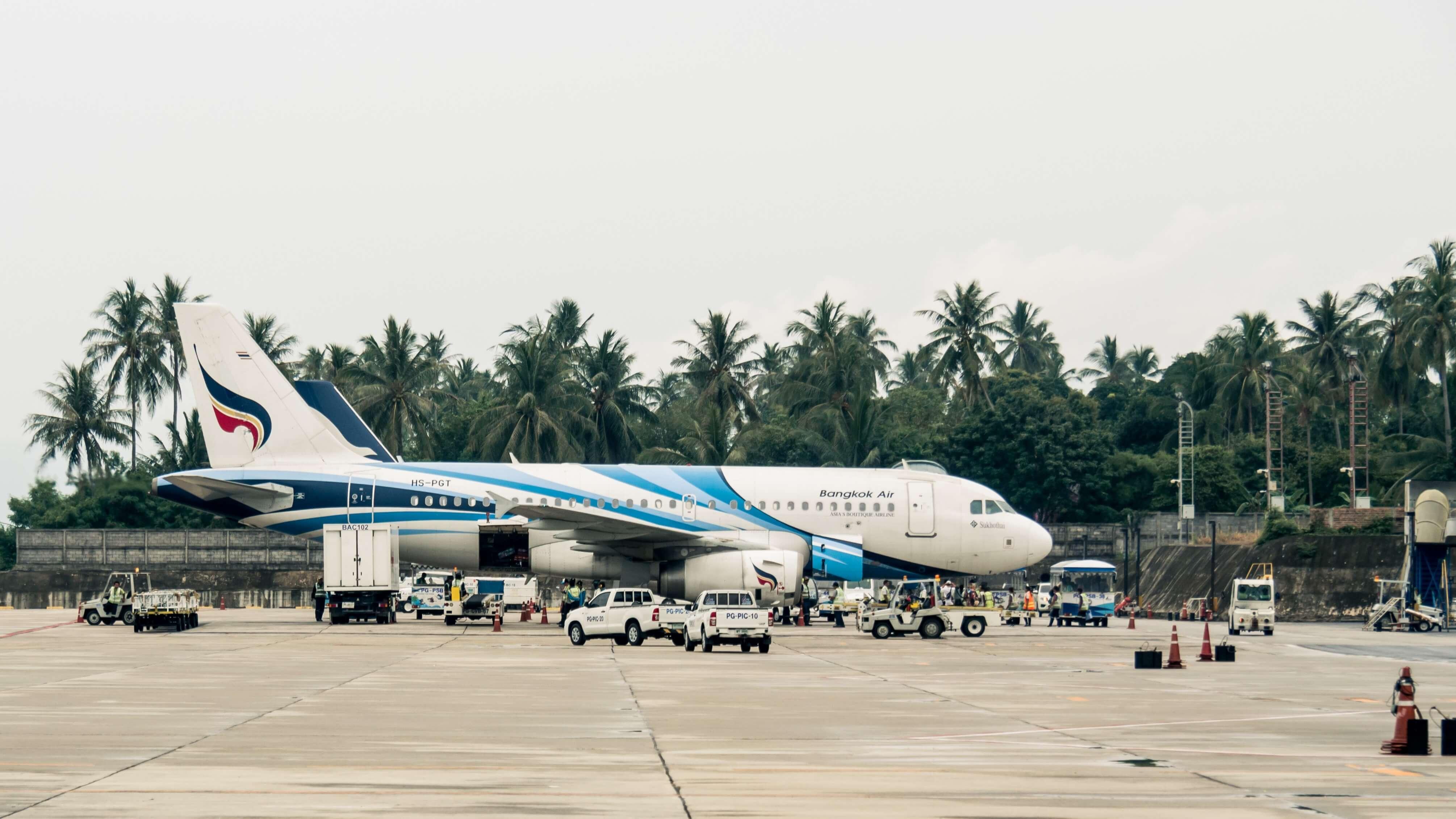 Bangkok Airways USM Airport Koh Samui