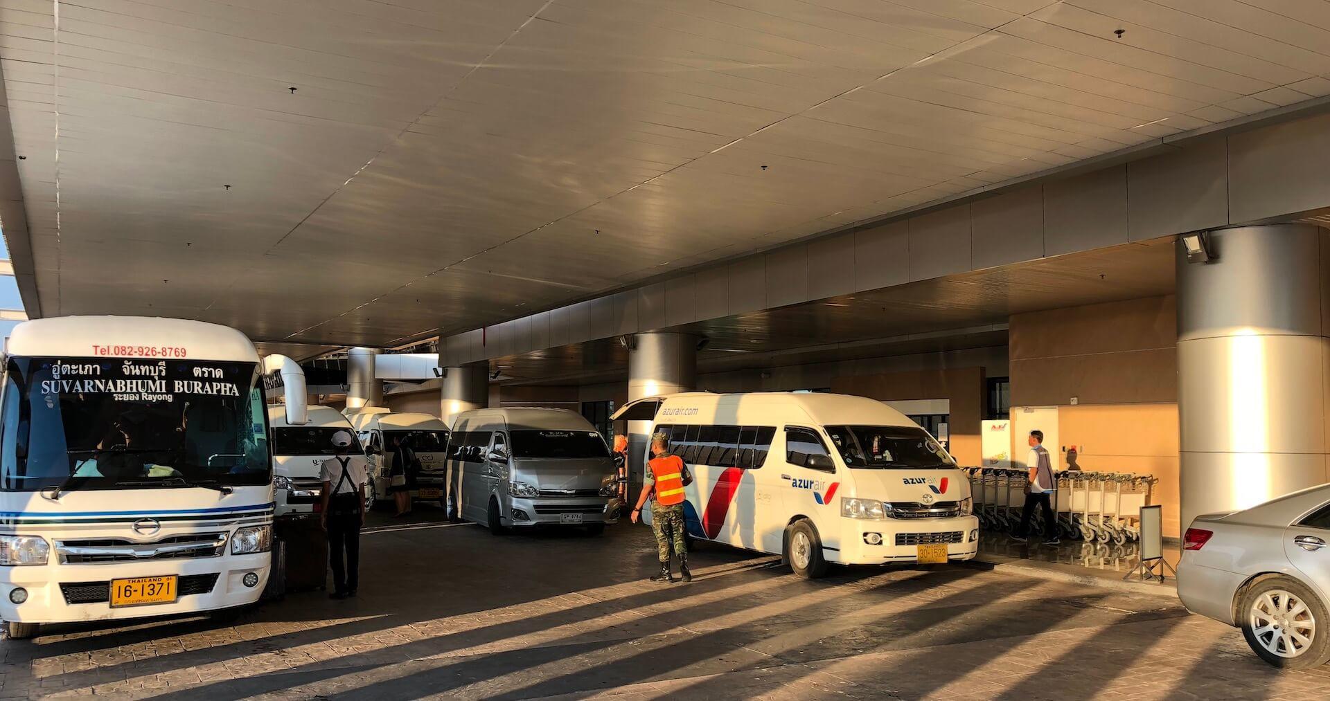 Bus U-Tapao Airport Pattaya