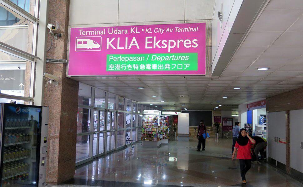 KLIA Ekspres @ KLIA Sentral Station