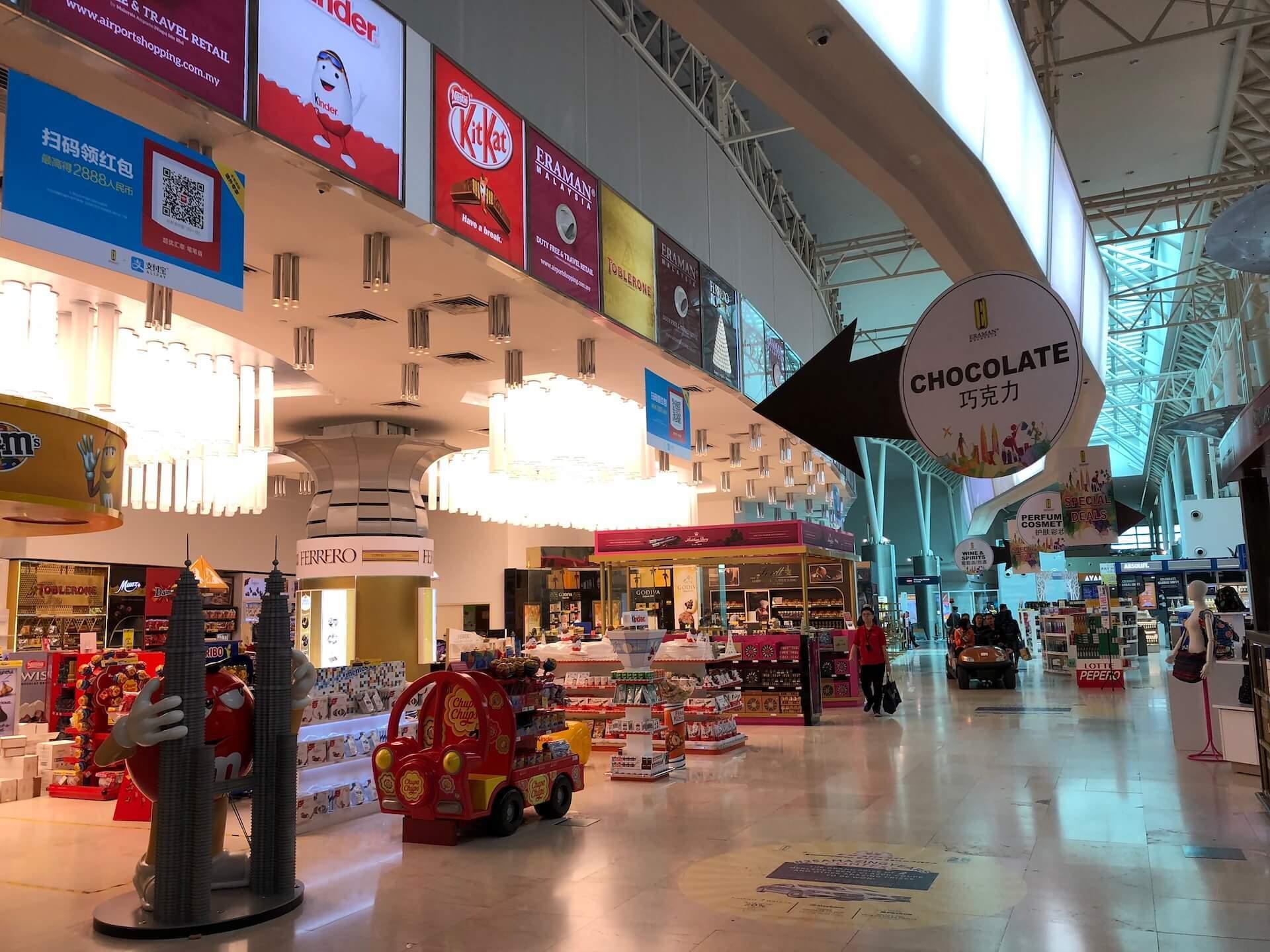 KLIA2 - Flughafen Kuala Lumpur Duty Free Shops