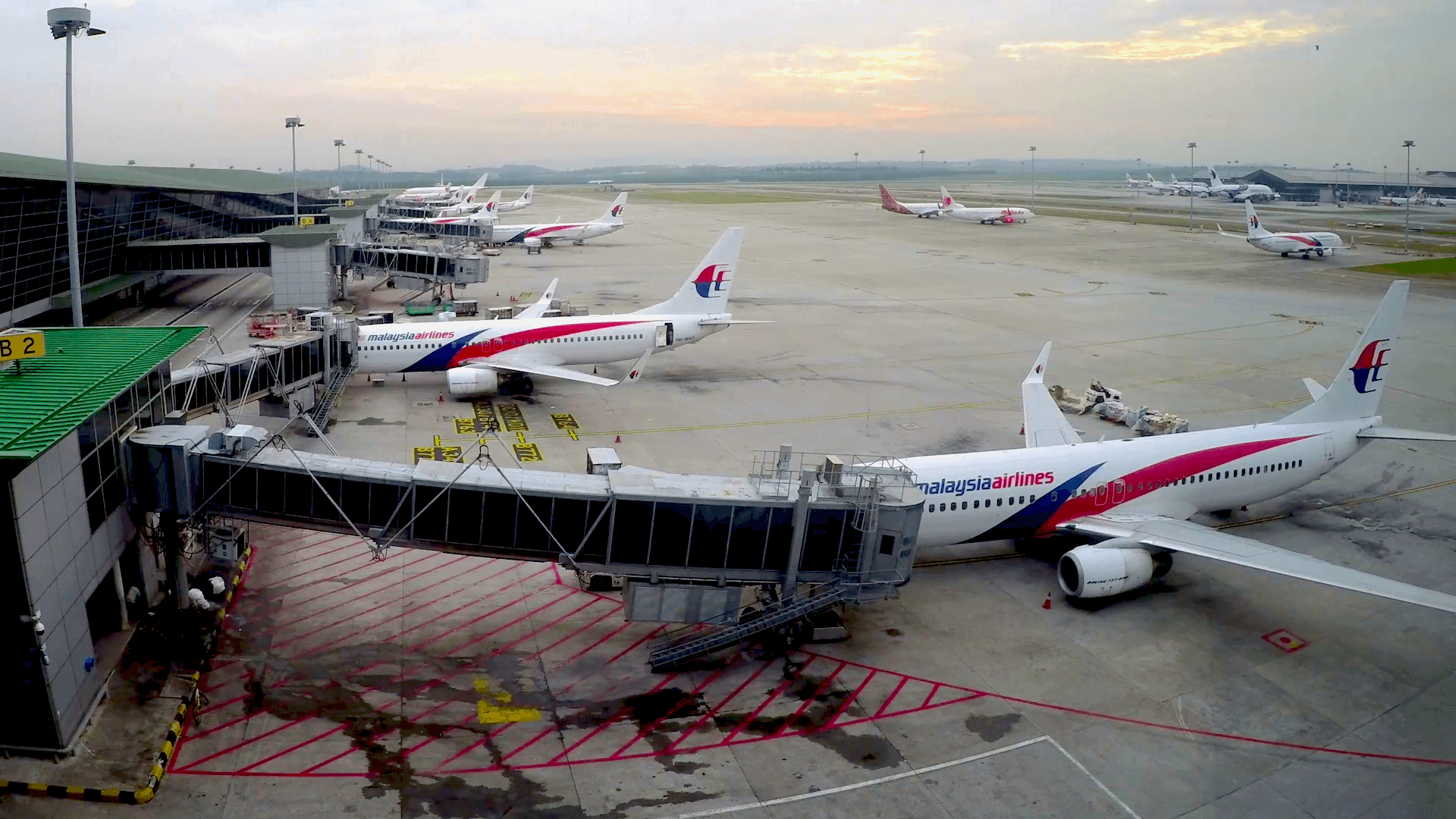 Kuala Lumpur International Airport Malaysia Airlines Flotte