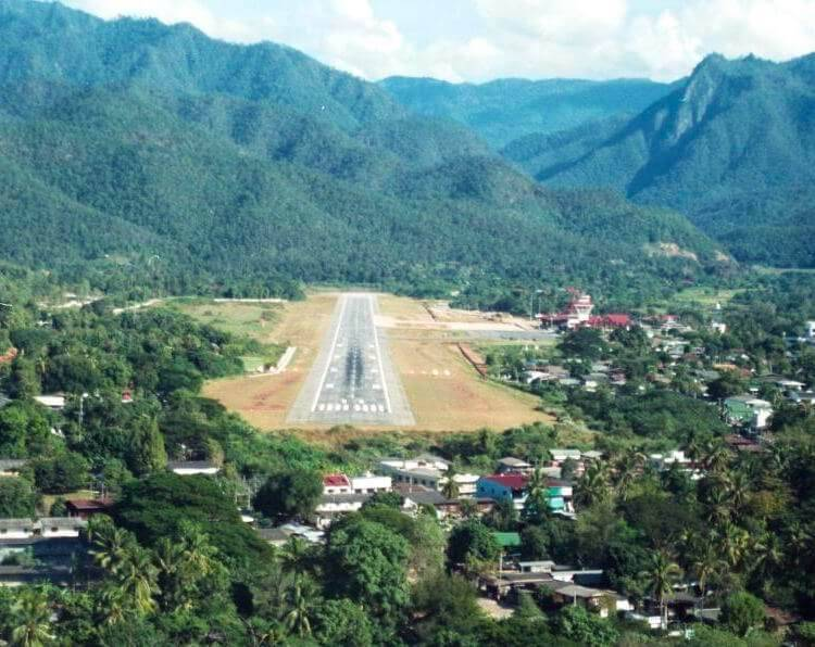 Mae Hong Son Airport Thailand
