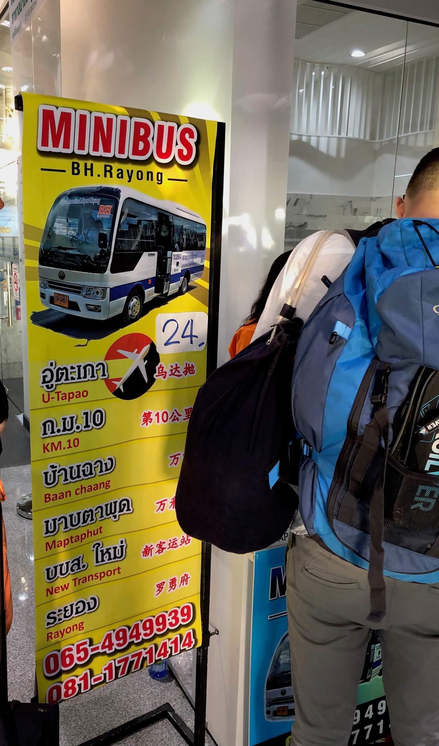 Minibus Service Airport Pattaya
