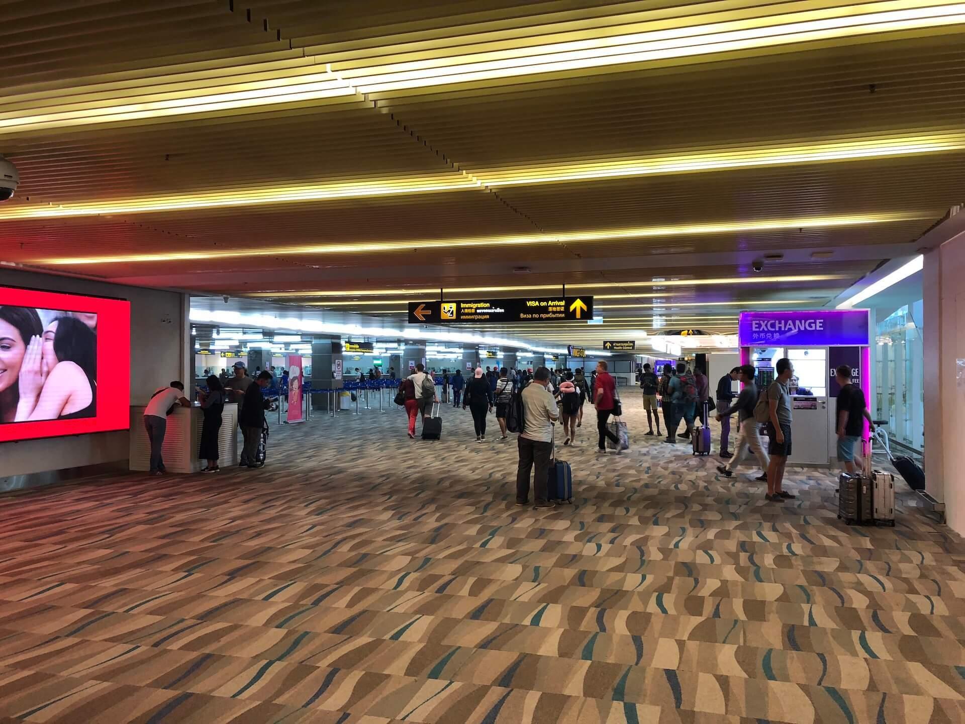 Phuket Airport Ankunft & Passkontrolle International Terminal