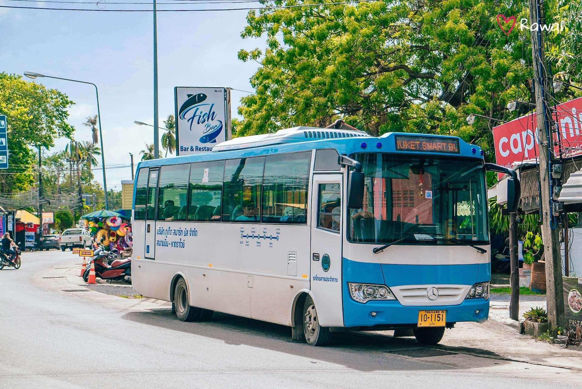 Phuket Smart Bus Erfahrungen & Test