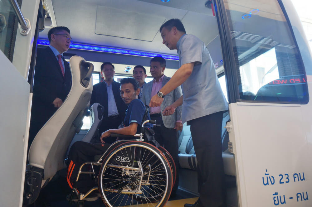 Phuket Smart Bus behindertengerecht