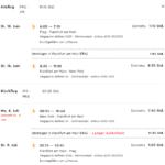 Singapore Airlines Prag - New York Return Flugzeiten