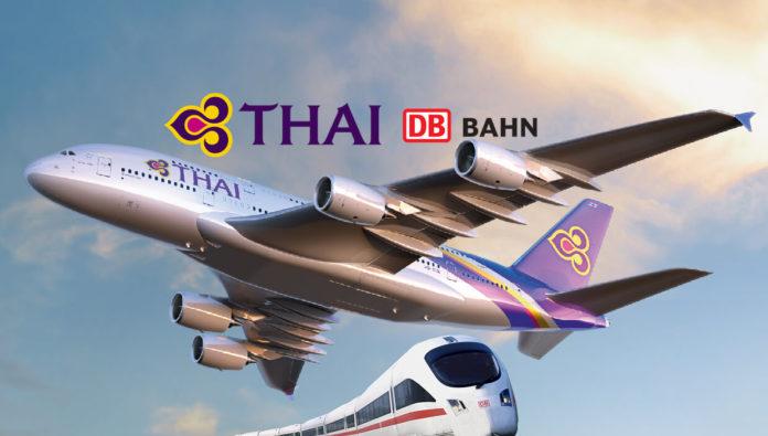 Thai Airways Rail & Fly - Preise, Buchung