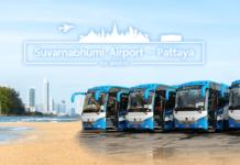 Airport Bus Pattaya zum Bangkok Suvarnabhumi Airport (BKK)