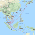 Jetstar Asia Routen