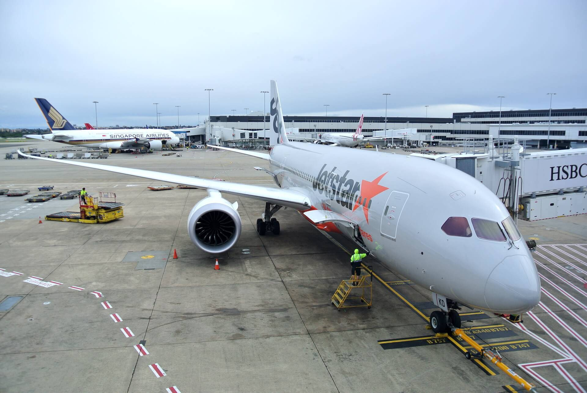 Jetstar Flotte 787