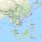 Jetstar Pacific Routen