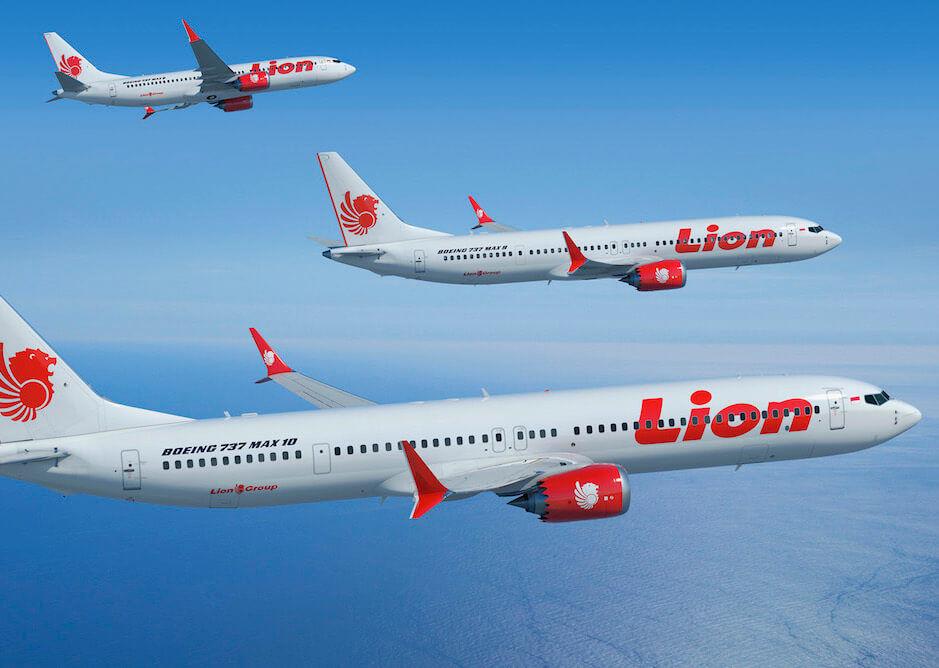 Lion Air Flotte 737