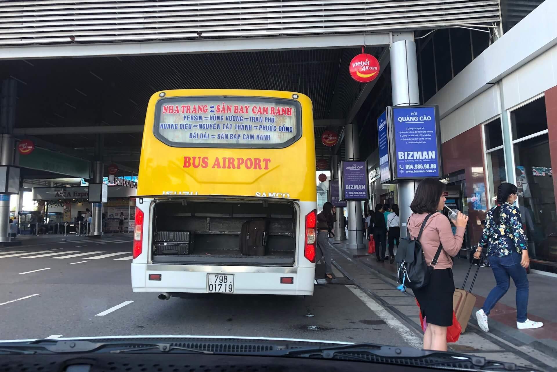 Nha Trang Airport Bus