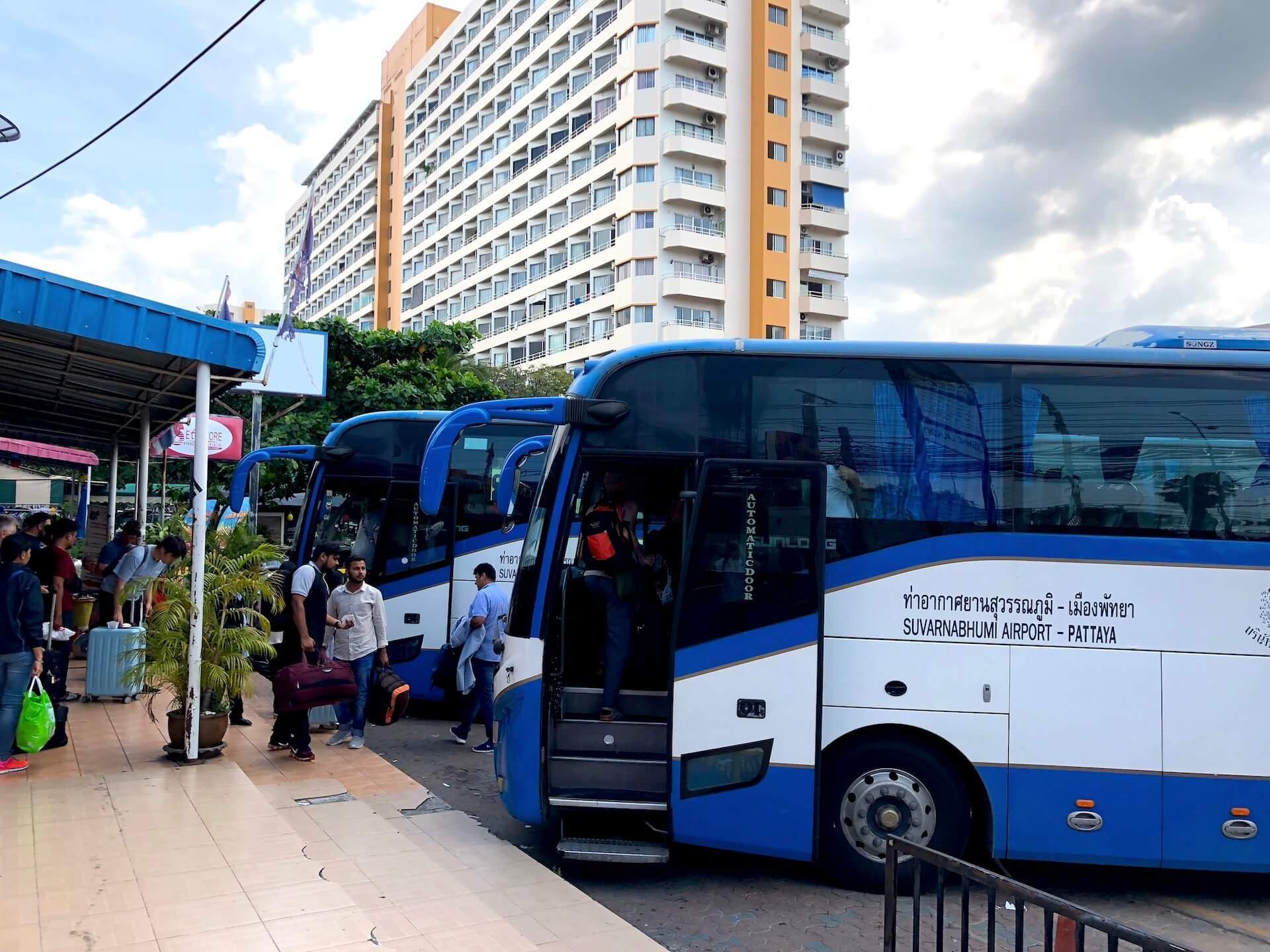Suvarnabhumi Airport Bus Pattaya Bus-Station