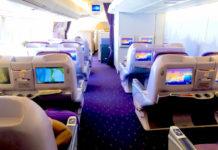 Thai Airways Royal Silk Erfahrungen & Test - Business Class Inland