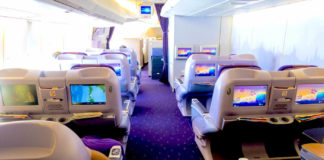 Thai Airways Royal Silk Erfahrungen & Test - Business Class Inland