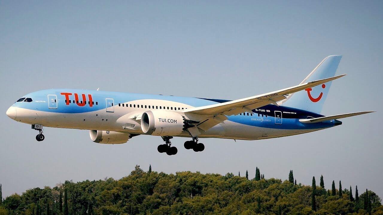 Tui 787 Dreamliner