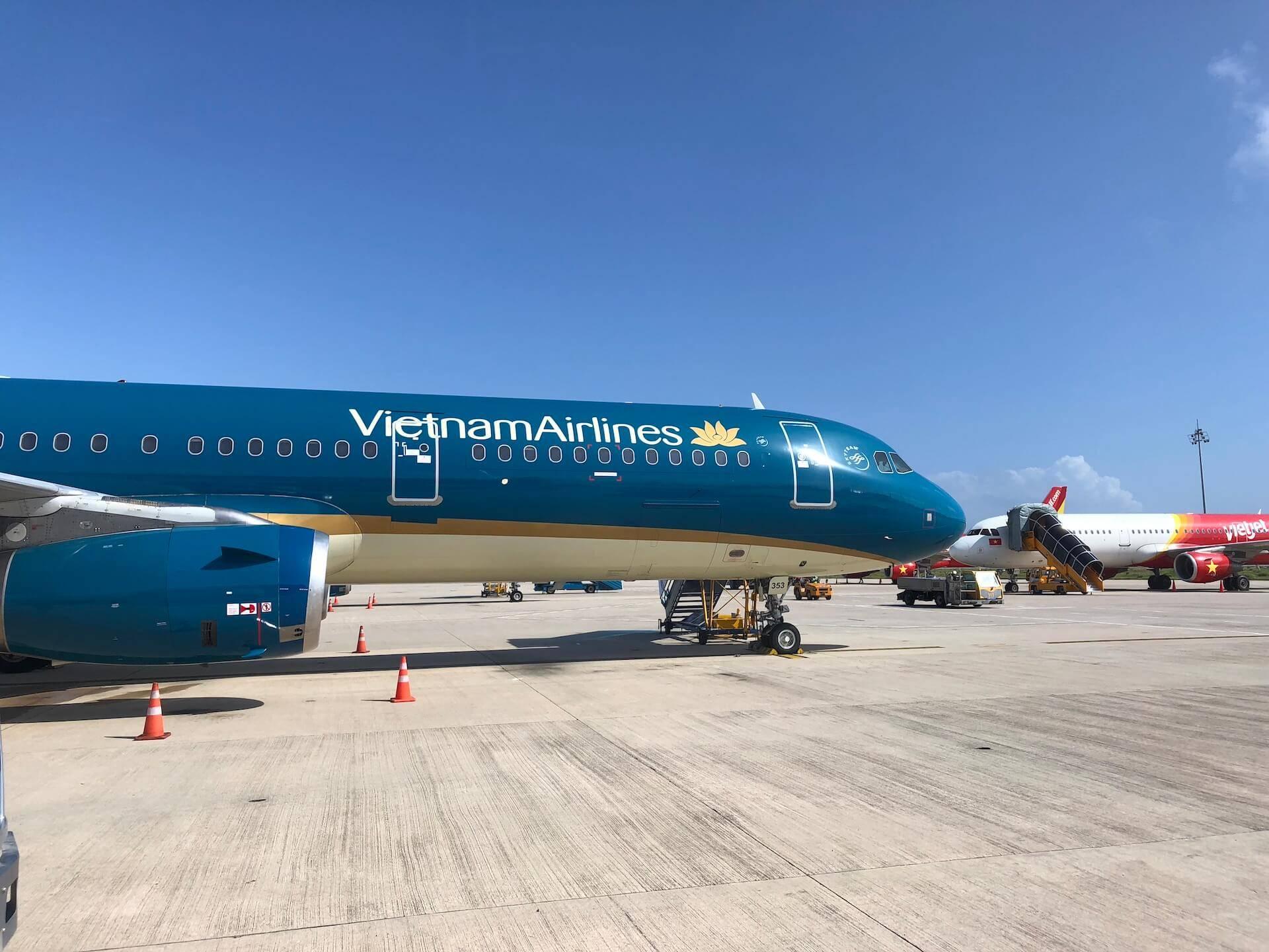 Vietnam Airlines Airbus A321 Rollfeld
