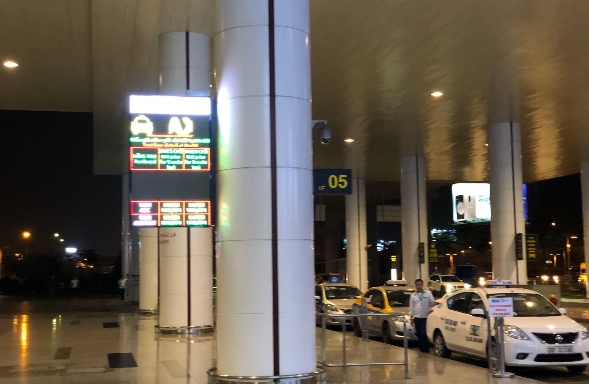 Flughafen Hanoi Metered Taxi