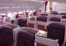 Thai Airways Business Class Inland Erfahrungen & Test - Royal Silk