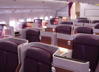 Thai Airways Business Class Inland Erfahrungen & Test - Royal Silk