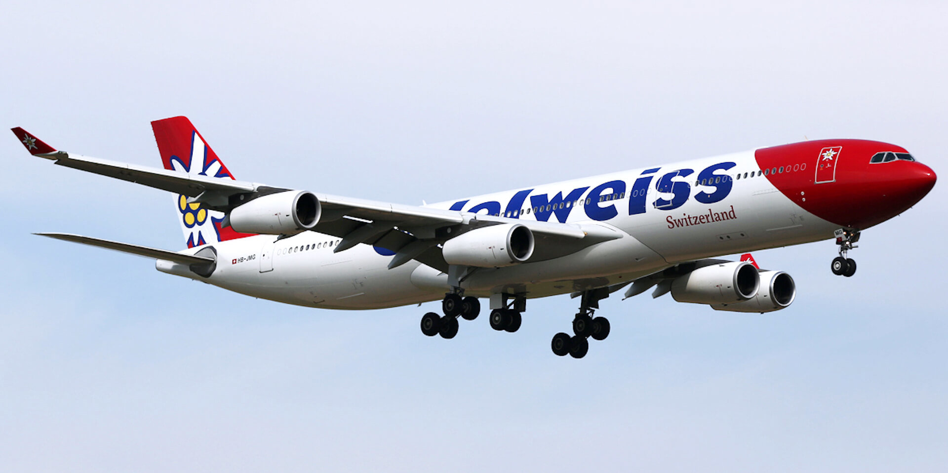Edelweiss Airbus A340