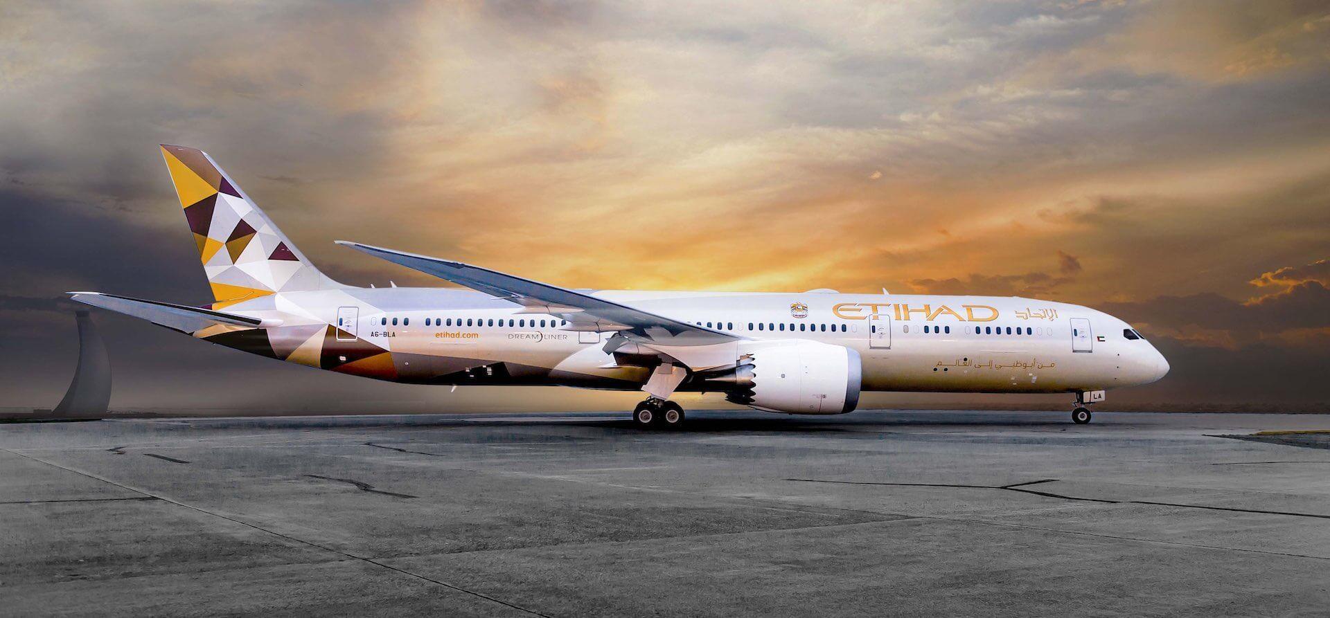 Etihad Boeing 787-9 Dreamliner
