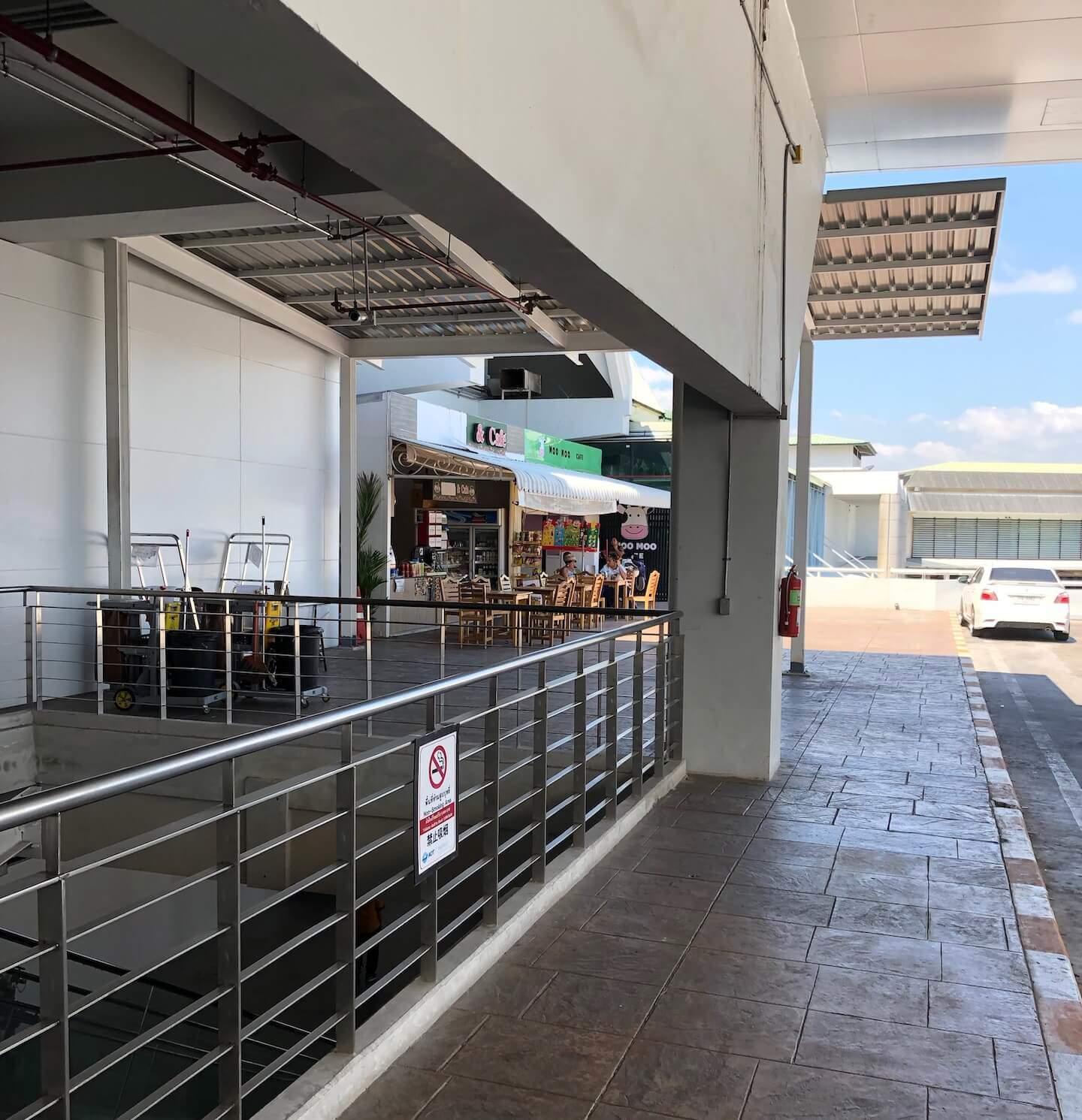 Raucherbereich Flughafen Phuket 2019