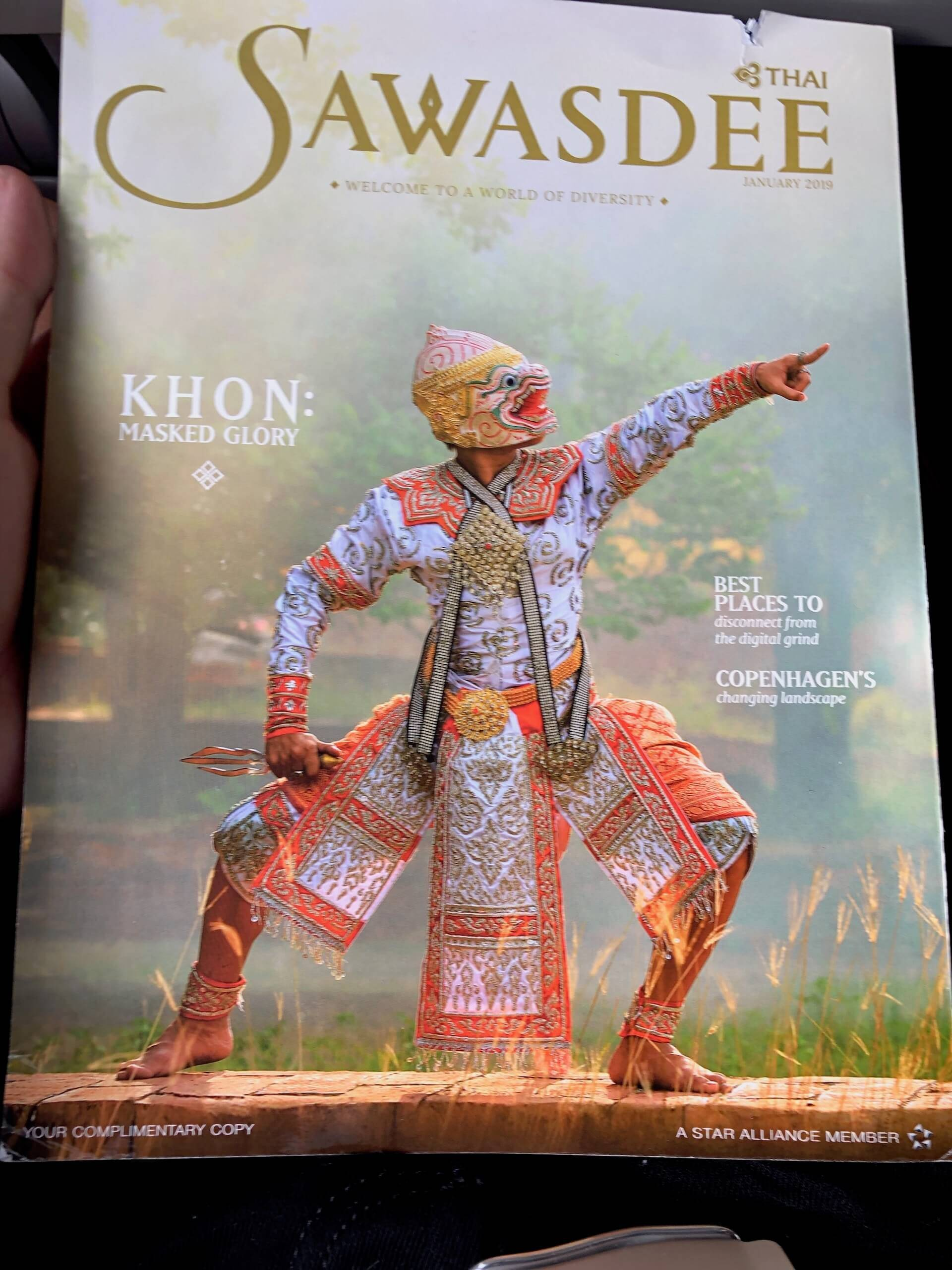 Thai Airways Bordmagazin Jan 2019