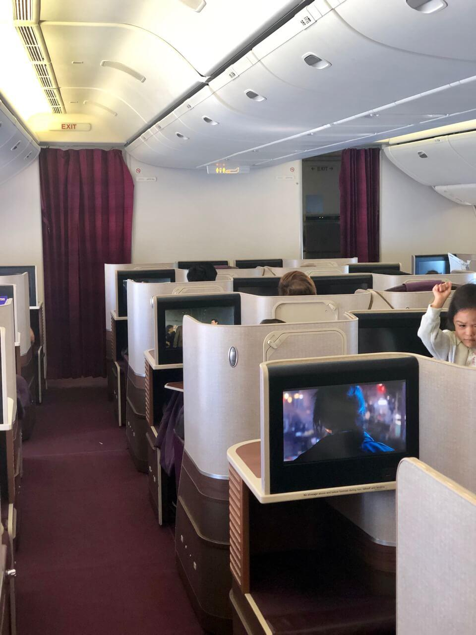Thai Airways Business Class Boeing 777-300