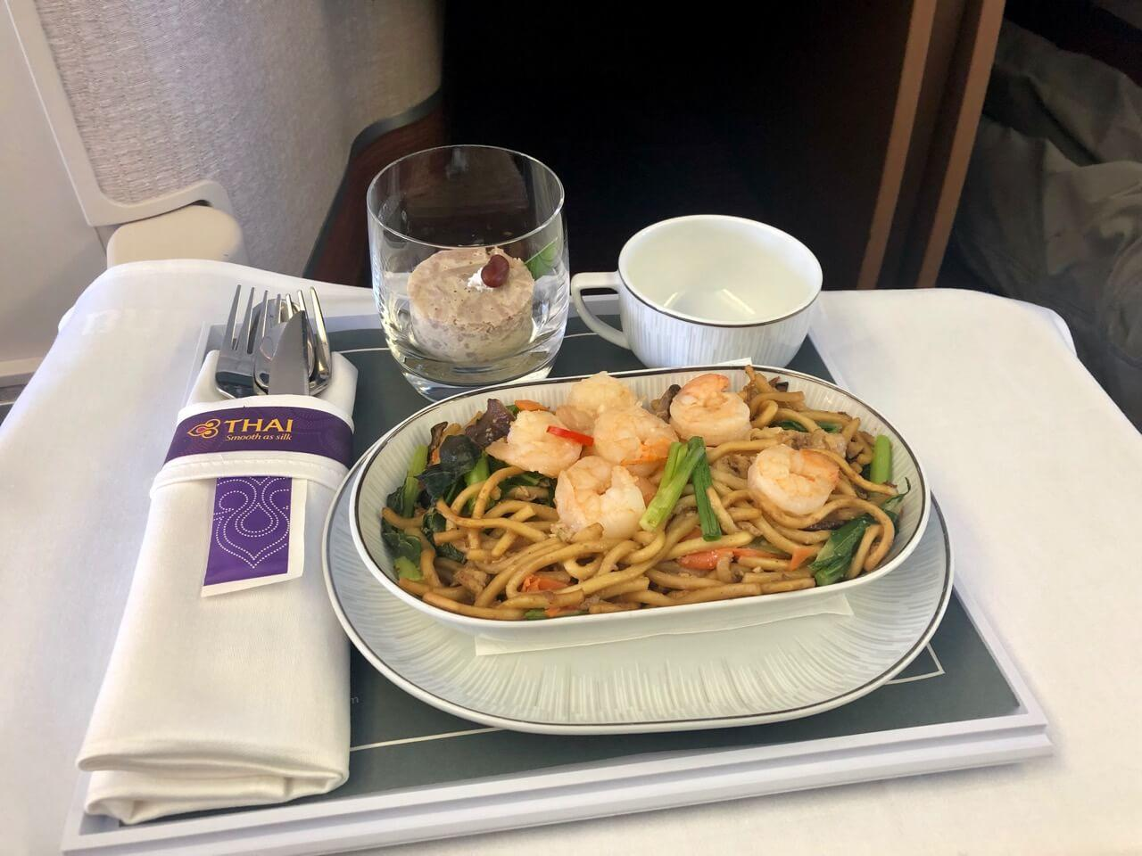 Thai Airways Business Class Essen Boeing 777-300