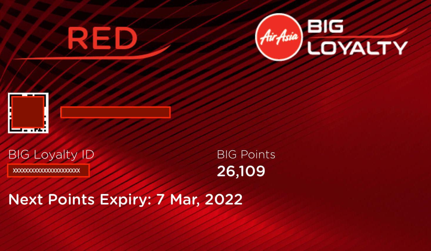 AirAsia BIG Member Card