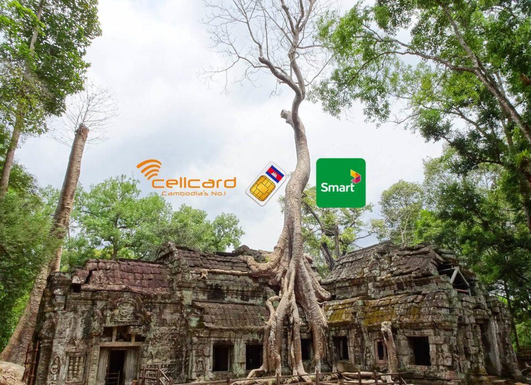 SIM-Karte am Flughafen Kambodscha - Phnom Penh & Siem Reap kaufen & Tipps