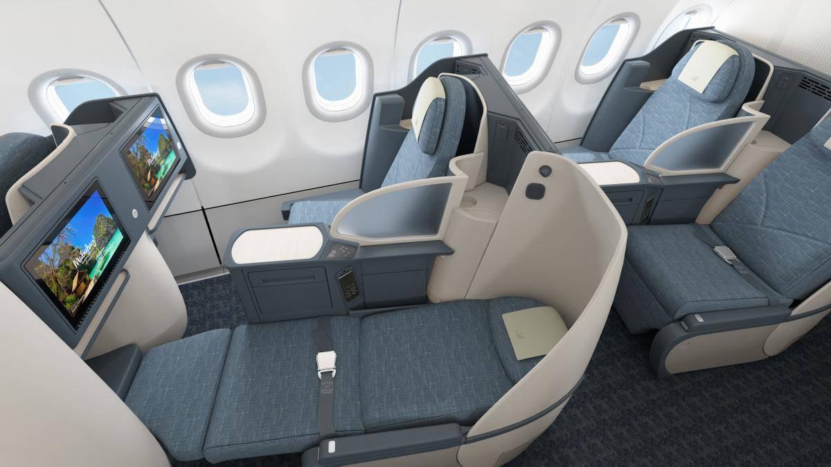 A321 neo Flatbed ausgefahren Philippine airlines A321 neo